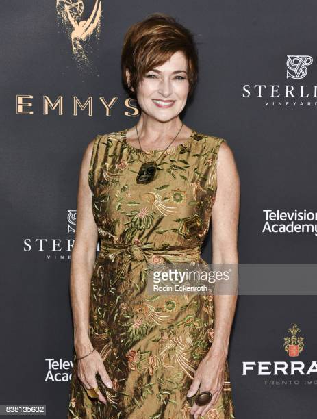 Carolyn Hennesy attends the Television Academy's Cocktail Reception with Stars of Daytime Television Celebrating 69th Emmy Awards at Saban Media...