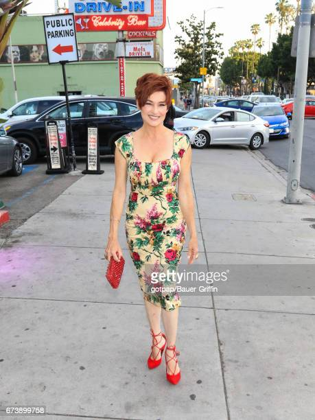 Carolyn Hennesy is seen on April 26 2017 in Los Angeles California