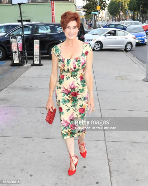 Carolyn Hennesy is seen on April 26 2017 in Los Angeles California