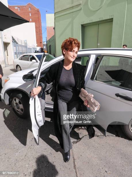 Carolyn Hennesy is seen on March 04 2018 in Los Angeles California