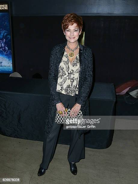 Carolyn Hennesy is seen on November 30 2016 in Los Angeles California