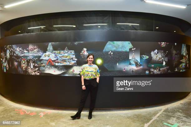 Carolyn Janssen attends Spring Break Art Fair 2017 Vernissage at 4 Times Square on February 28 2017 in New York City