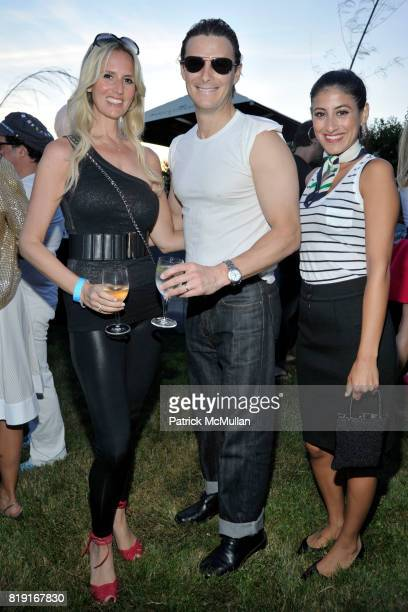 Carolyn Levinbook Dave Levinbook and Annabelle Menna attend THE CINEMA SOCIETY DIOR BEAUTY host a screening of 'GREASE SingALong' at Katie Lee's...