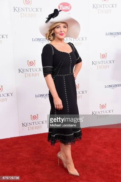 Carolyn Manno attends the 143rd Kentucky Derby at Churchill Downs on May 6 2017 in Louisville Kentucky