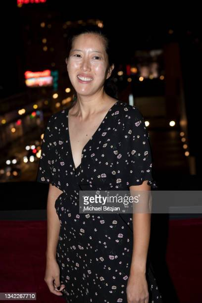 Carolyn Mao arrives at 17th Annual Oscar-Qualifying HollyShorts Film Festival Opening Night at Japan House Los Angeles on September 23, 2021 in Los...