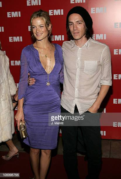 Carolyn Murphy and Brandon Boyd during 2005 EMI Post GRAMMY Awards Party in Los Angeles CA United States