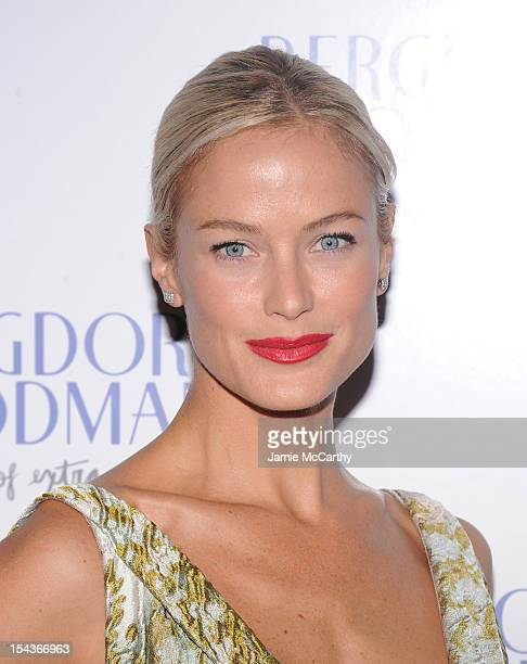 Carolyn Murphy attends Bergdorf Goodman's 111th anniversary celebration at the Plaza Hotel on October 18 2012 in New York City