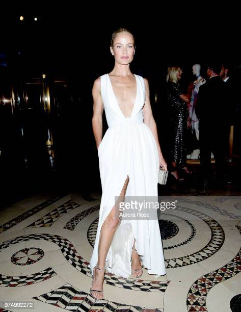 Carolyn Murphy attends FIT's 2018 Annual Awards Gala at Cipriani 42nd Street on June 14 2018 in New York City