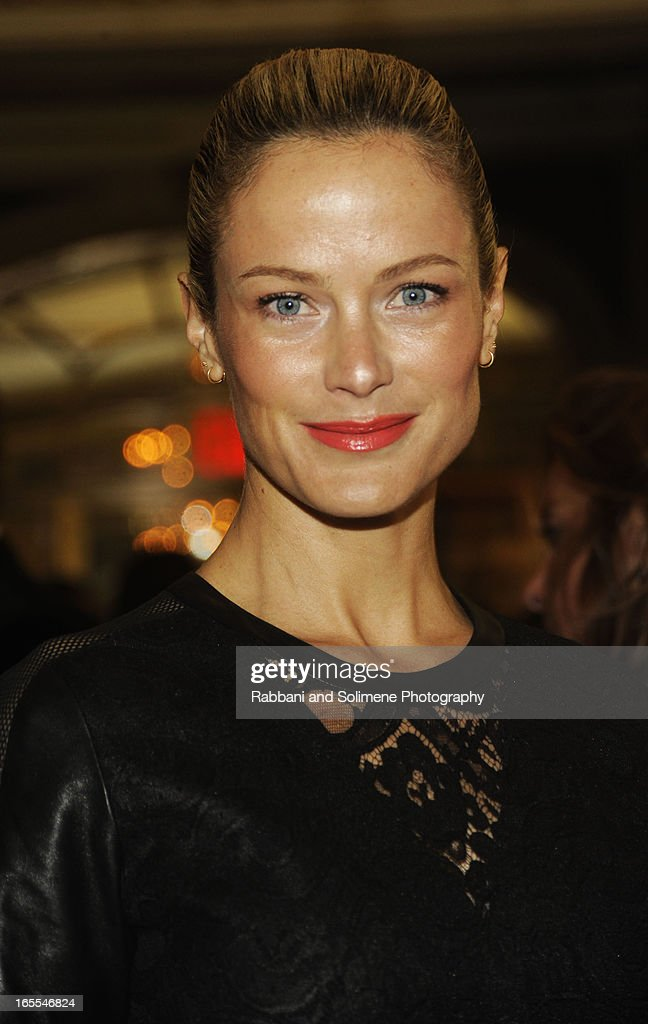 Carolyn Murphy attends the 2013 Henry Street Settlement Spring Gala Dinner Dance at The Plaza Hotel on April 4, 2013 in New York City.