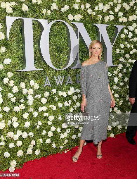 Carolyn Murphy attends the 2017 Tony Awards at Radio City Music Hall on June 11 2017 in New York City