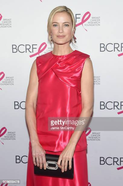 Carolyn Murphy attends the Breast Cancer Research Foundation Hot Pink Gala hosted by Elizabeth Hurley at Park Avenue Armory on May 17 2018 in New...
