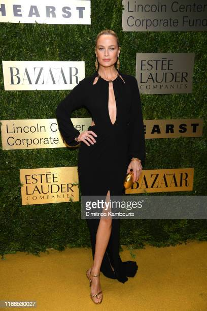 Carolyn Murphy attends the Lincoln Center Corporate Fashion Gala honoring Leonard A. Lauder at Alice Tully Hall on November 18, 2019 in New York City.