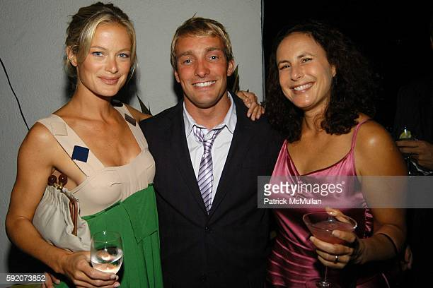 Carolyn Murphy Brian Bowen Smith and Margot Frankel attend Jennifer Smith Hale and Carolyn Murphy host the launch of California's first lifestyle...