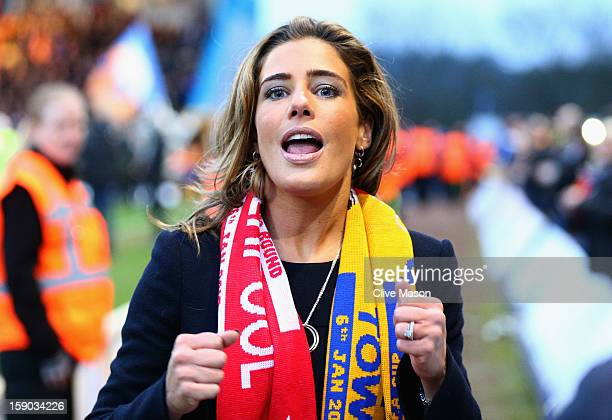 Carolyn Radford, CEO of Mansfield Town is seem prior to the FA Cup with Budweiser Third Round match between Mansfield Town and Liverpool at One Call...