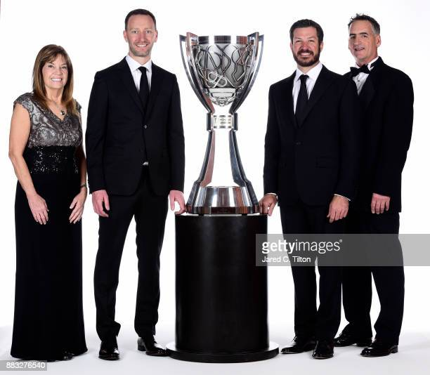 Carolyn Visser wife of Furniture Row Racing team owner Barney Visser Monster Energy NASCAR Cup Series Champion crew chief Cole Pearn Monster Energy...