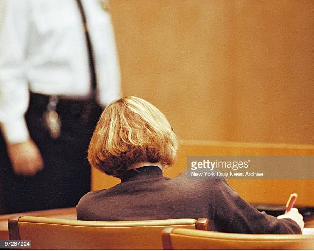 Carolyn Warmus a teacher who is accused of the murder of Betty Jean Solomon the wife of her lover and fellow school teacher Paul Solomon at defense...