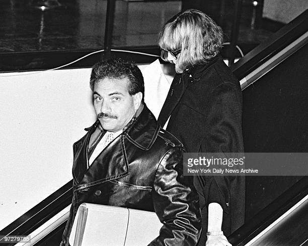 Carolyn Warmus Fatal Attraction killer with her private bodyguard leaves Westchester County Courthose after day of jury selectionCarolyn Warmus...