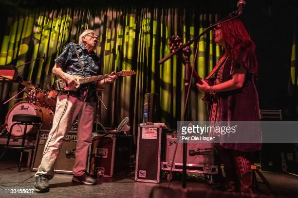 Carolyn Wonderland and John Mayall performs at Rockefeller on March 3 2019 in Oslo Norway