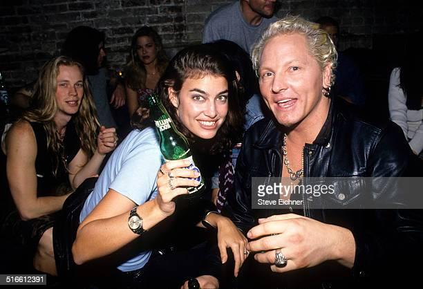 Caron Bernstein and Matt Sorum of Guns N' Roses at Tunnel Club New York May 27 1994
