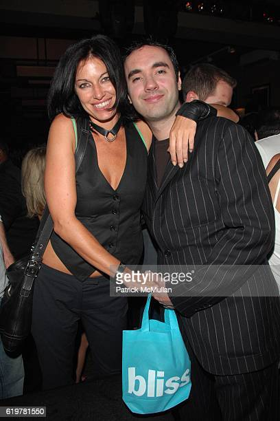 Caron Bernstein and Michael James attend Noel Ashman and Jesse Bradford's Birthday at The Plumm on June 14 2007 in New York City