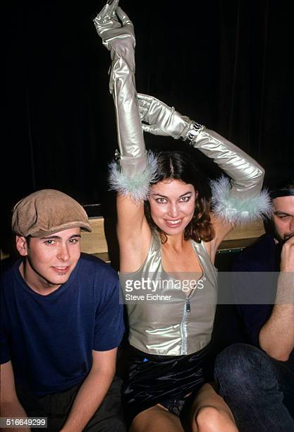 Caron Bernstein at Tunnel Club New York 1990s