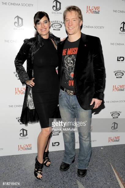 Caron BernsteinSchupak and Bill Dawes attend THE CINEMA SOCIETY DELEON Tequila host a screening of I LOVE YOU PHILLIP MORRIS at SVA Theater on...