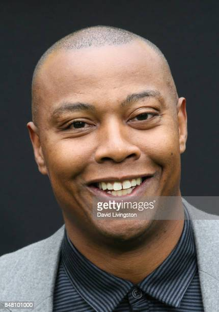Caron Butler at the premiere of Warner Bros Pictures' 'The LEGO Ninjago Movie' at Regency Village Theatre on September 16 2017 in Westwood California