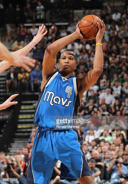 Caron Butler of the Dallas Mavericks in Game Four of the Western Conference Quarterfinals during the 2010 NBA Playoffs at ATT Center on April 25 2010...