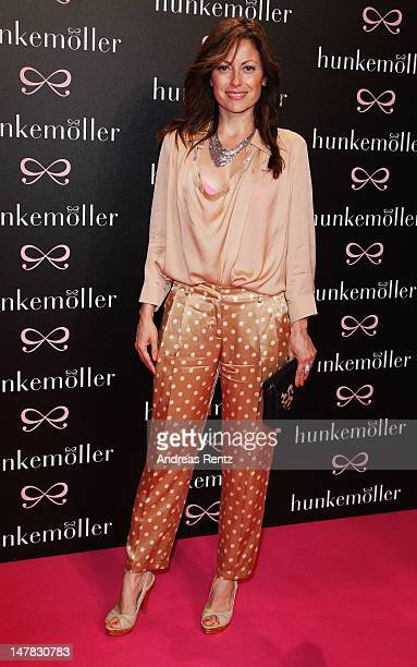 Caronlina Vera attends the Hunkemoeller Show during the MercedesBenz Fashion Week Spring/Summer 2013 on July 4 2012 in Berlin Germany