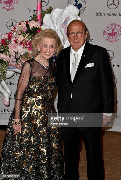 Carousel of Hope Chairman Barbara Davis and Sony Music Entertainment Chief Creative Officer Clive Davis attend the 2014 Carousel of Hope Ball...