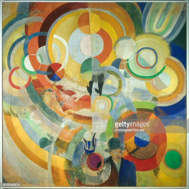 Carousel with Pigs Delaunay Robert Center Pompidou National Museum of Modern Art France