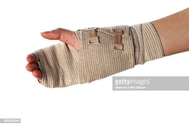carpal tunnel in wrist - wounded stock photos and pictures