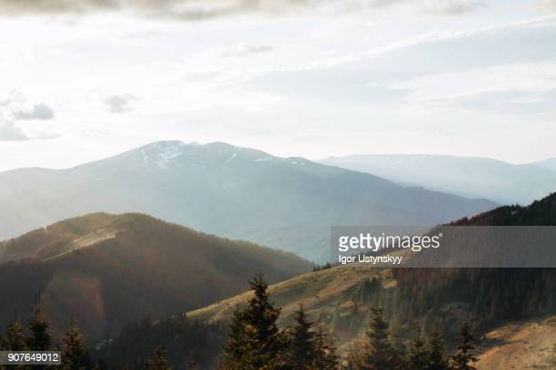 Carpathian mountain range, Ukraine