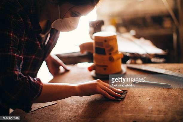 Carpenter girl