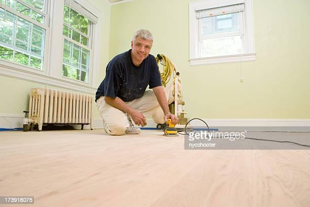 Carpenter Refinishing Hardwood floors