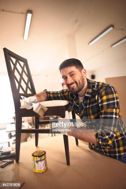 Carpenter Restoring Chair