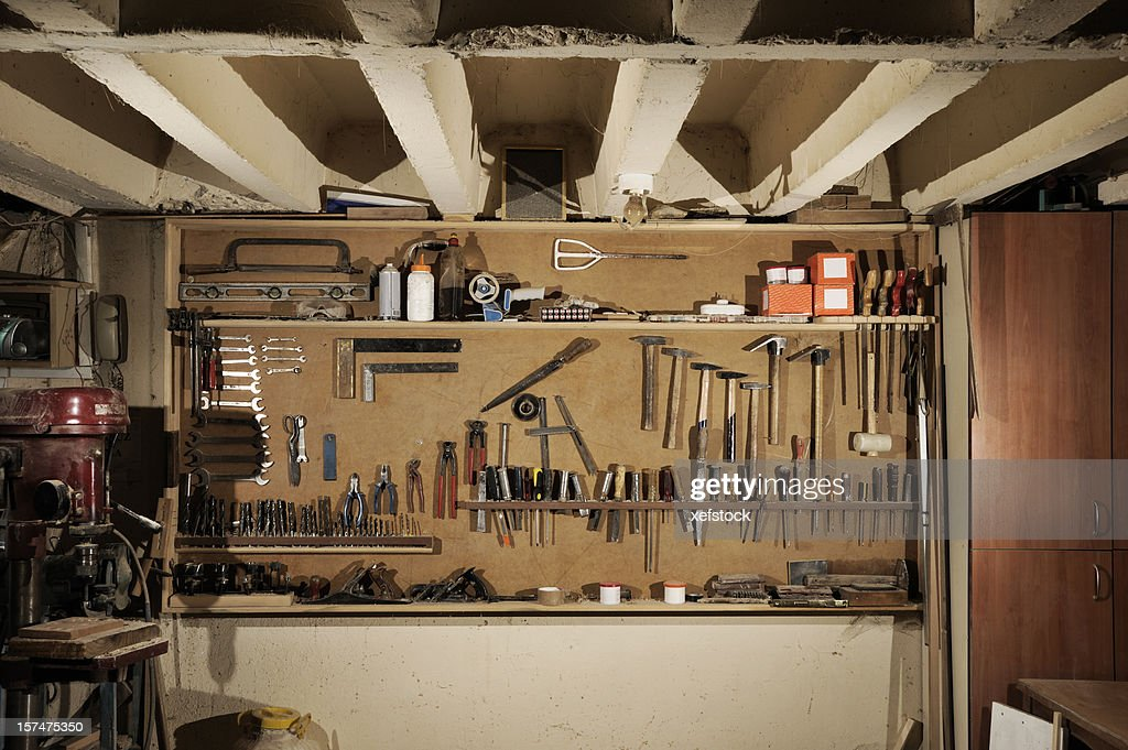 Carpenter Workshop Stock Photo Getty Images