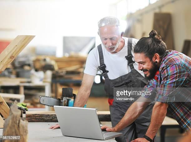 Carpenter's at work