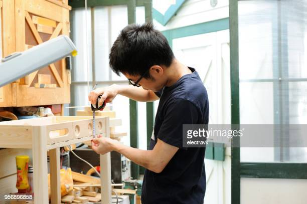 carpenter's workshop - foundation make up stock pictures, royalty-free photos & images