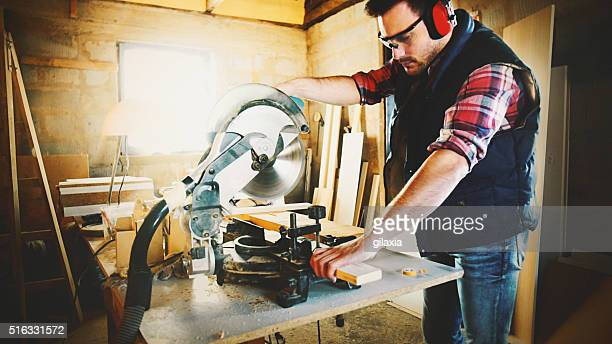 Carpentry work.