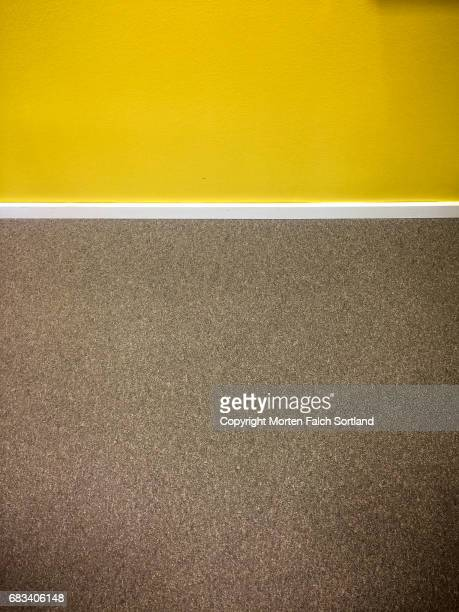 Carpet and wall