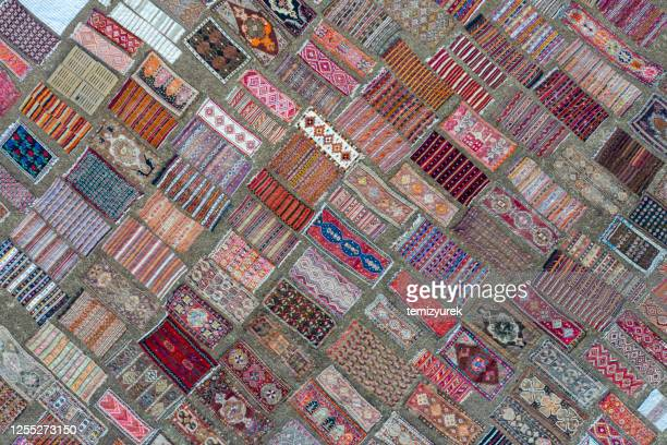 carpet field - persian rug stock pictures, royalty-free photos & images