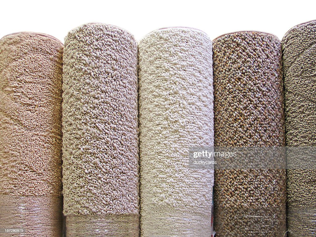 Carpet Rolls : Stock Photo