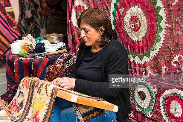 carpet store in tbilisi - georgian style stock pictures, royalty-free photos & images
