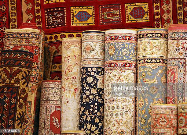 carpet world - persian culture stock photos and pictures