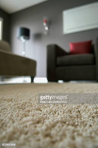 Carpeting in living room