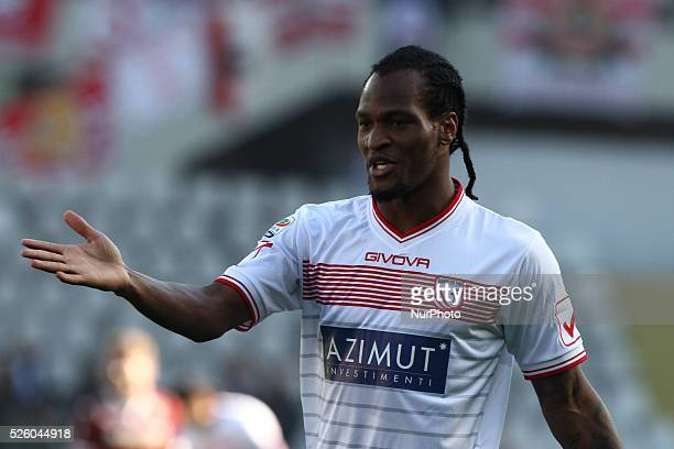 Carpi forward Jerry Uche Mbakogu during the Serie A football match n26 TORINO CARPI on 21/02/16 at the Stadio Olimpico in Turin Italy Copyright 2016...