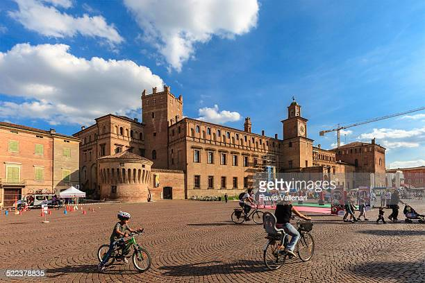 carpi, piazza dei martini, italy - modena stock pictures, royalty-free photos & images