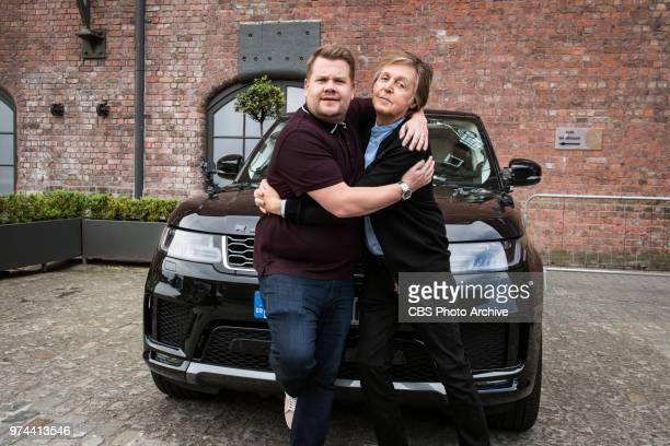 Carpool Karaoke in London with Paul McCartney scheduled to air on THE LATE LATE SHOW WITH JAMES CORDEN