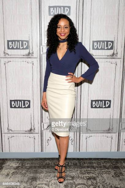 Carra Patterson attends the Build Series to discuss 'The Arrangement' at Build Studio on February 28 2017 in New York City
